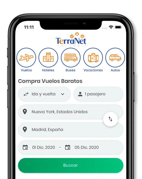App TerraNet Colombia S.A.S.